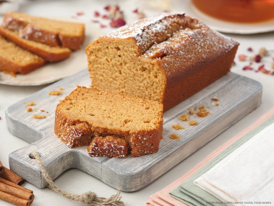 carrot quick bread made with honey featuring carmichael's honey
